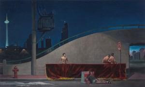 Shenyang Night by Wang Xingwei contemporary artwork