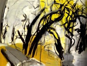 In the Forest (yellow) by Li Jiin-Shiow contemporary artwork
