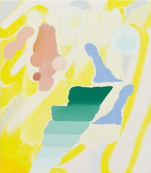 Gradient presence by Tonee Messiah contemporary artwork