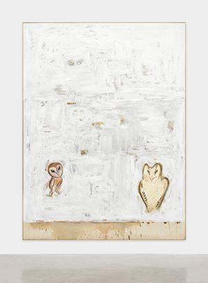 Jetzt noch schlechter abgeschnitten (Political Paintings) by David Ostrowski contemporary artwork