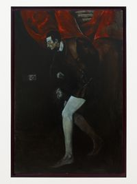 Exit imago by Giangiacomo Rossetti contemporary artwork painting