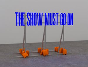 The Show Must Go On by Superflex contemporary artwork