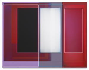 Three Bars, Two Blocks by Patrick Wilson contemporary artwork