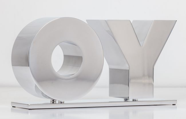 OY/YO by Deborah Kass contemporary artwork