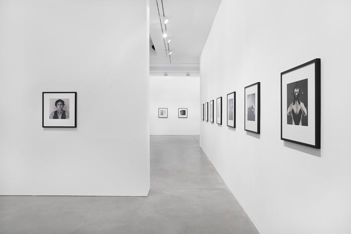 Exhibition view: Robert Mapplethorpe, Selected by Robert Wilson, Galerie Thomas Schulte, Berlin (14 March–9 May 2020). Courtesy Galerie Thomas Schulte, Berlin. Photo: ©Stefan Haehnel.