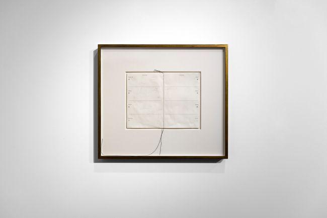 Erased Diary by Susan Morris contemporary artwork