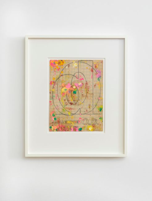 O.D by Harland Miller contemporary artwork