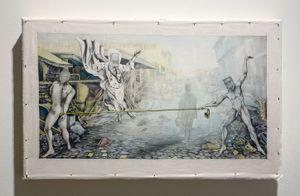 Kanye by Jesse Krimes contemporary artwork