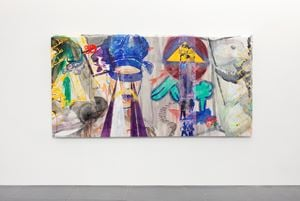 double love & flied currency (Double Fly Art Center 2020-Q-005) by Double Fly Art Center contemporary artwork