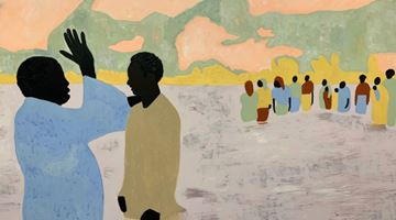 Contemporary art exhibition, Cassi Namoda, To Live Long is To See Much at Goodman Gallery, Johannesburg