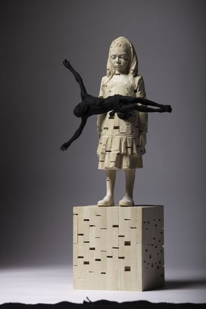 Leave Me Alone by Gehard Demetz contemporary artwork