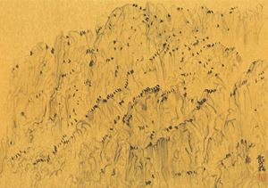 Return to the Ancient No.10 《古意10》 by Xu Longsen contemporary artwork painting, works on paper
