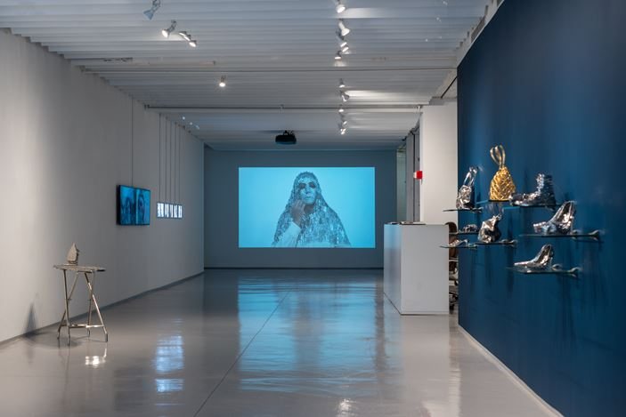 Exhibition view: Tayeba Lipi, This is What I Look(ed) Like, Sundaram Tagore Gallery, Chelsea, New York (2 May–1 June 2019). Courtesy Sundaram Tagore Gallery.