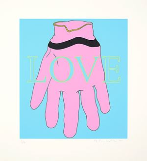 Love/Glove by Michael Craig-Martin contemporary artwork