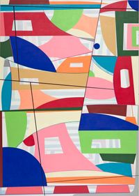 Another Time by Gary Petersen contemporary artwork painting, works on paper