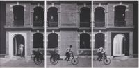 Shanghai Triptych by Cho Duck Hyun contemporary artwork works on paper