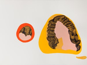 Voyages of discovery (Ode to Rosetti) by Patricia Piccinini contemporary artwork works on paper