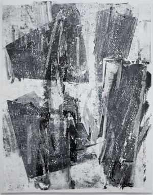 Cast of Shadow by Zheng Chongbin contemporary artwork painting, works on paper, drawing