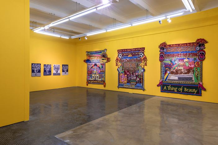 Exhibition view:  Jody Paulsen, Paradise Found: an exploration of visual culture through the work of Jody Paulsen, SMAC Gallery, Cape Town (17 December 2020–23 January 2021). Courtesy SMAC Gallery.