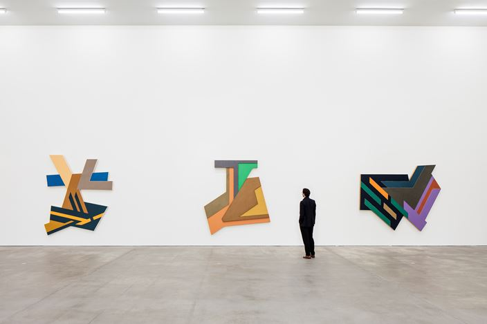 Exhibition view, Frank Stella, Sprüth Magers, Berlin, July 8 - September 3, 2016 © 2016 Frank Stella / Artists Rights Society (ARS), New York