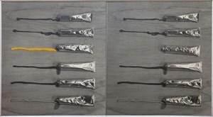 paints-73-3 by Kanji Wakae contemporary artwork