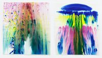 atombomben (set of 2) by Miriam Cahn contemporary artwork painting