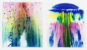 atombomben (set of 2) by Miriam Cahn contemporary artwork