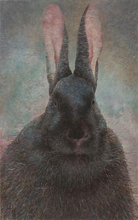 Rabbit Portrait - Wuxu 1 by Shao Fan contemporary artwork painting