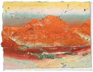 Tal (Valley) by Matthias Weischer contemporary artwork