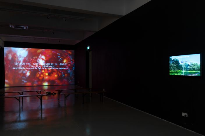 Exhibition viewL Chen Xiaoyun, Shifting Times, Moving Images, ShanghART, Singapore (19 June–15 July 2021). Courtesy ShanghART.