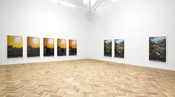 Contemporary art exhibition, Marine Hugonnier, TRAVEL POSTERS at Ingleby Gallery, Edinburgh