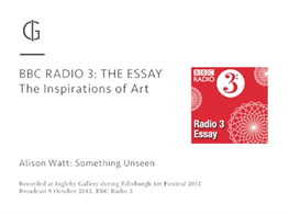 THE ESSAY with Alison Watt