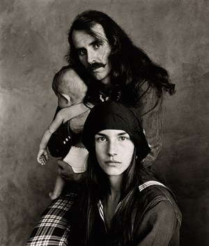 Hippie Family (Kelley), San Francisco by Irving Penn contemporary artwork