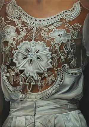 Lace by Lia Kazakou contemporary artwork