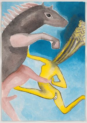 A Story Well Told XII by Francesco Clemente contemporary artwork