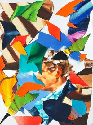 Relampago by Norbert Bisky contemporary artwork