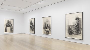 Contemporary art exhibition, Charles White, Monumental Practice at David Zwirner, New York