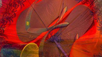 Contemporary art exhibition, Roe Ethridge, Beach Umbrella at Gagosian, Park & 75, New York, USA