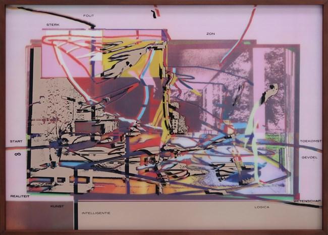 Positive Earth by Anne-Mie Van Kerckhoven contemporary artwork