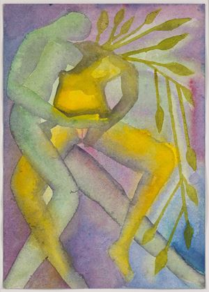 A Story Well Told VI by Francesco Clemente contemporary artwork