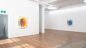 Contemporary art exhibition, Shane Cotton, Sun Portrait at Michael Lett, Auckland