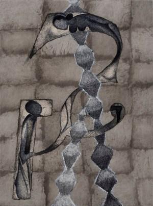 The Family by Atul Dodiya contemporary artwork