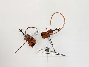 Die drei Grazien im Tanz by Rebecca Horn contemporary artwork