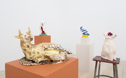 Pie Rankine, Zigzag, 2017. Exhibition view, Gallery 9, Sydney. Image courtesy Gallery 9, Sydney.