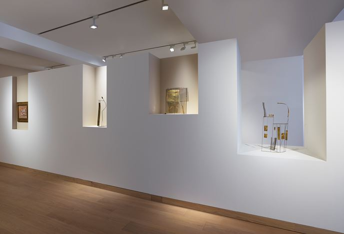 Exhibition view: Group Exhibition, Invisible Cities: Architecture of Line, Waddington Custot, London (7 March–4 May 2018). Courtesy Waddington Custot.