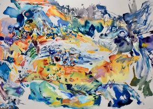 Element c-m-1 by Anne Kagioka Rigoulet contemporary artwork
