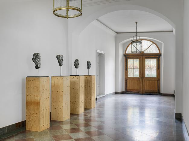 Exhibition view: Günther Förg, 4 Masken, Kewenig, Berlin (15 December 2020–20 February 2021). © Estate Günther Förg. Courtesy of Kewenig. Photo: Lepkowski Studios, Berlin.