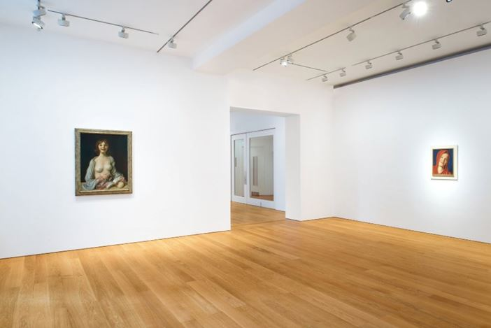 Exhibition view: John Currin, Gagosian, Hong Kong (26 November 2019–29 February 2020). Artwork © John Currin. Courtesy Gagosian.