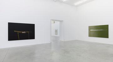 Contemporary art exhibition, Hyun-Sook Song, The single brushstroke as a horizon between heaven and earth at Zeno X Gallery, Antwerp, Belgium