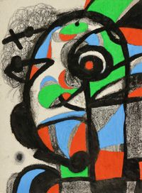 Sans titre by Joan Miró contemporary artwork works on paper, drawing